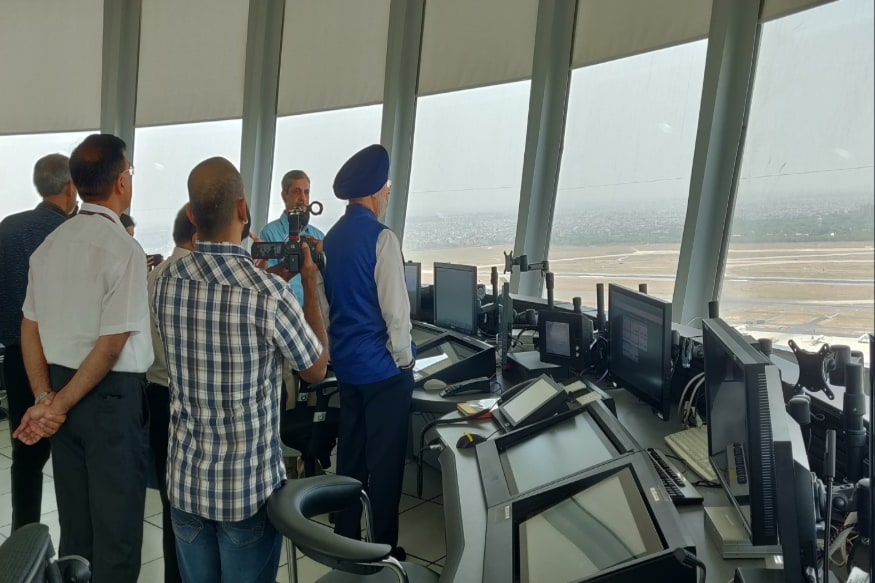 Delhi's IGI Airport Gets India's Tallest ATC Tower Measuring