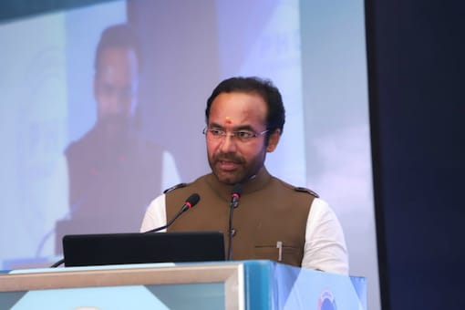 File photo of Union Minister G Kishan Reddy. (Twitter)