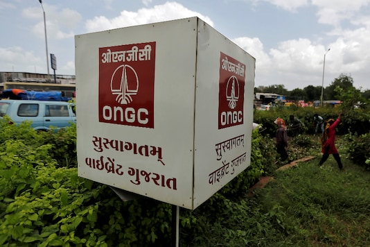 File photo of Oil and Natural Gas Corp's (ONGC) logo. (Image : Reuters)