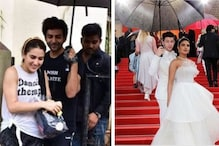 Kartik Aaryan Holding an Umbrella for Sara Ali Khan Outside the Gym Reminds Us of NickYanka at Cannes