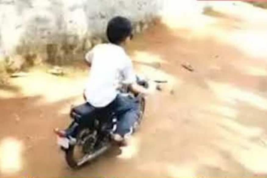 Dad from Kerala Builds Mini Royal Enfield Electric for His Son: Watch Heartwarming Video