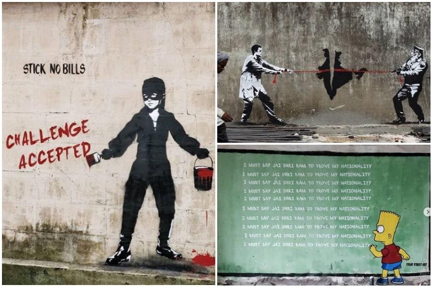 Behind Viral Modi-Rahul Tug-of-War Graffiti: Peeking into Walls of Street Artist 'Mumbai's Banksy'