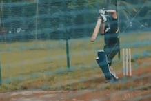 Sachin Tendulkar Shares Rare Training Clip of Him Practicing on Water-logged Pitch
