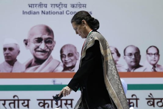 File photo of interim Congress chief Sonia Gandhi. (Reuters)