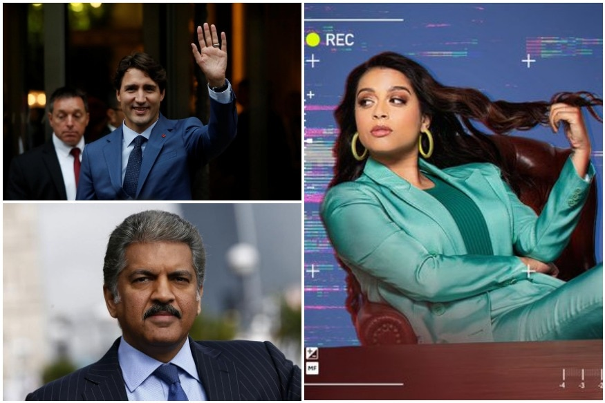 Lilly Singh's Fans Justin Trudeau and Anand Mahindra Wish Her Luck Before TV Debut