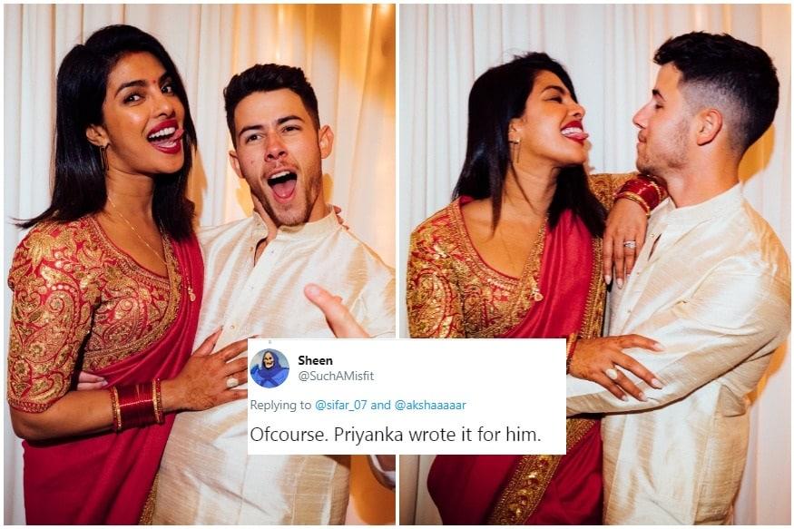 'Did Priyanka Write it?': Nick Jonas' Karwa Chauth Post Triggers Caption Contest and Curiosity