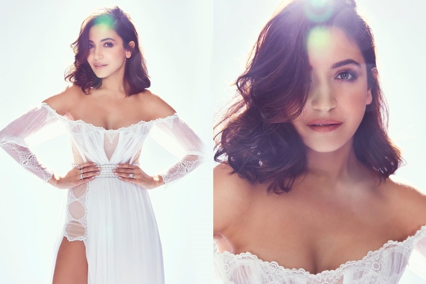 Elle Beauty Awards 2019: Anushka Sharma Looks Like a Fairy in White Off Shoulder Gown