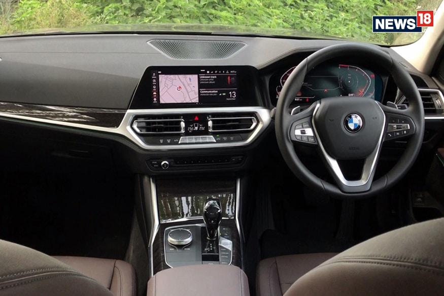 2019 BMW 3-Series cabin. (Image: Arjit Garg/ News18.com)