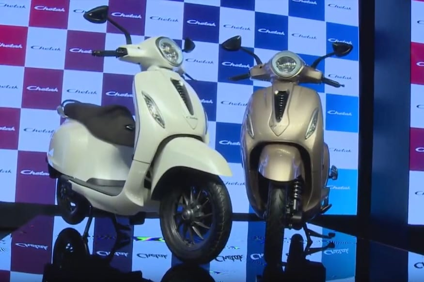 Bajaj Chetak Electric Scooter Unveiled in India, Launch in 2020