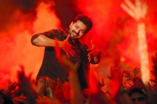 A still from Vijay-starrer Bigil which was produced by AGS Cinemas.
