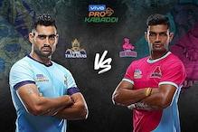 Pro Kabaddi 2019 HIGHLIGHTS, Tamil Thalaivas vs Jaipur Pink Panthers in Noida: Tamil Beat Jaipur 35-33