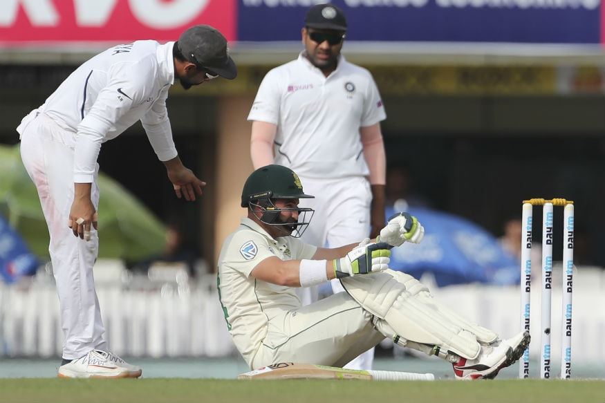 India vs South Africa: Theunis de Bruyn Named Concussion Substitute for Dean Elgar