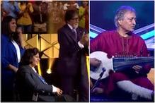 Amjad Ali Khan, Para-athletes Deepa Malik, Manasi Joshi Celebrate Amitabh Bachchan's Birthday on KBC Sets