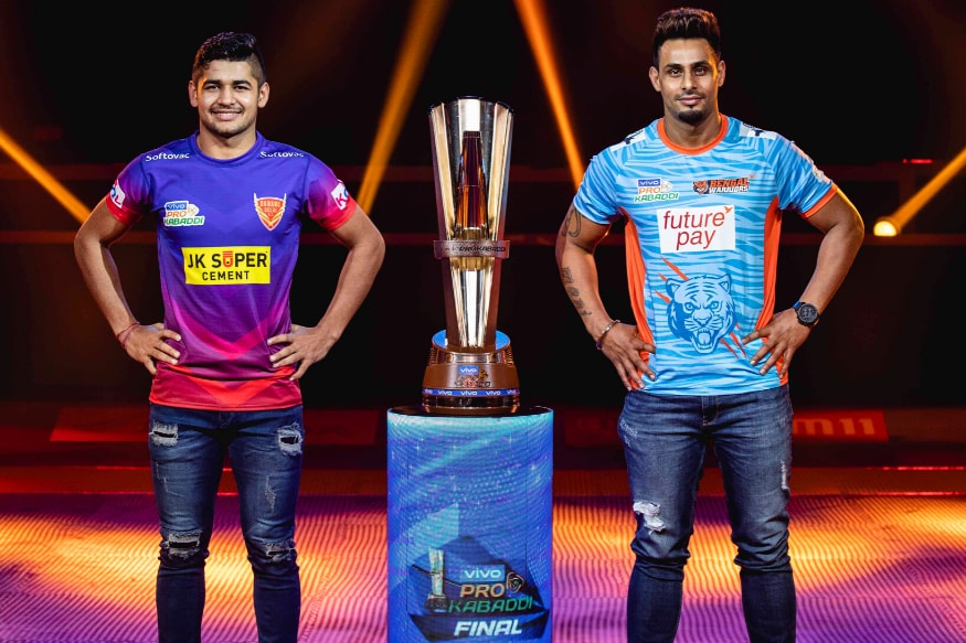 Pro Kabaddi 2019: With Star Raiders and Cohesive Units, Dabang Delhi and Bengal Warriors Set for Exciting Finale