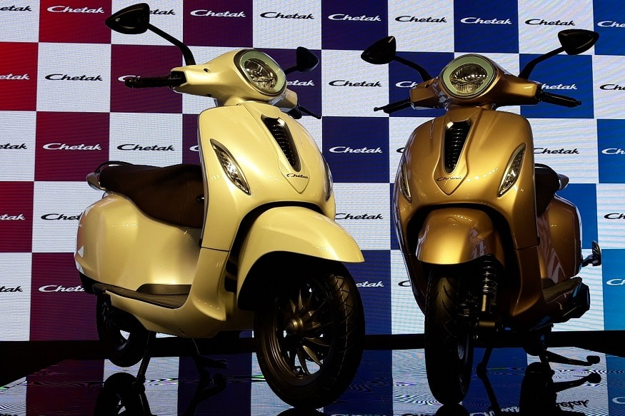 Bajaj Chetak Electric Scooter Launched in India: Check Battery, Price, Features and More Details