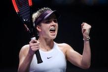 WTA Finals: Defending Champion Elina Svitolina Storms into Semis Defeating Simona Halep