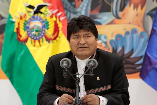 Carlos Romero served as a minister under Bolivia's ex-President Evo Morales (in picture) who has defended Romero. (Reuters)