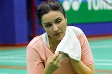 Parineeti Chopra Sweats it Out at Badminton Court, Saina Nehwal Drops in Encouraging Comment