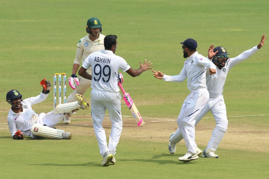 In Pics, India vs South Africa, Second Test, Day Four in Pune