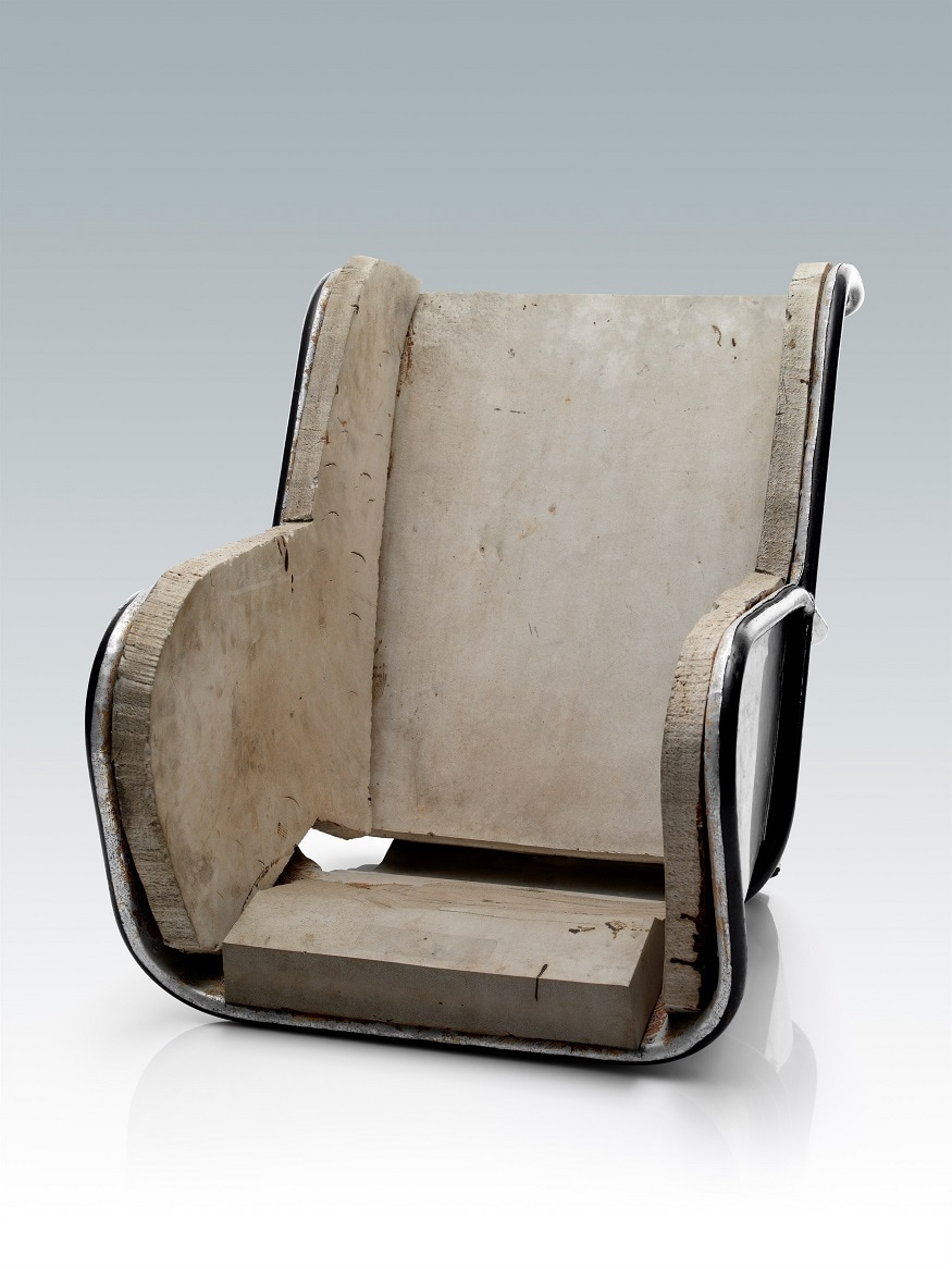 Rear faced child restraint, Volvo prototype from 1964
