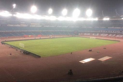 File photo of Jawaharlal Nehru Stadium.