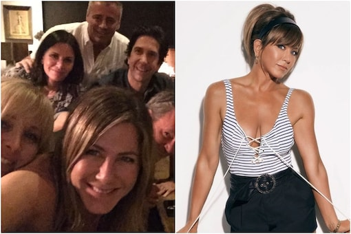 image of Jennifer Aniston and 'Friends' cast, courtesy of Instagram