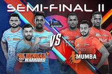 Pro Kabaddi 2019 Playoffs Semi-final 2 HIGHLIGHTS, Bengal Warriors vs U Mumba in Ahmedabad: Bengal Beat Mumbai 37-35