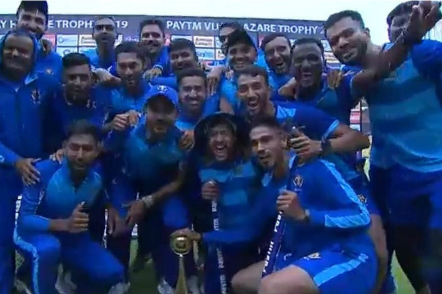 Vijay Hazare Trophy: Karnataka Lift Fourth Title After 60-Run VJD Method Win Over TN
