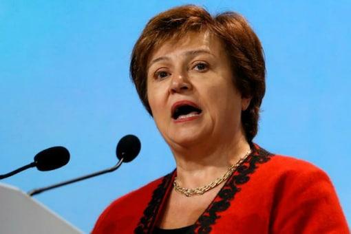 File photo of IMF chief Kristalina Georgieva. (Reuters)