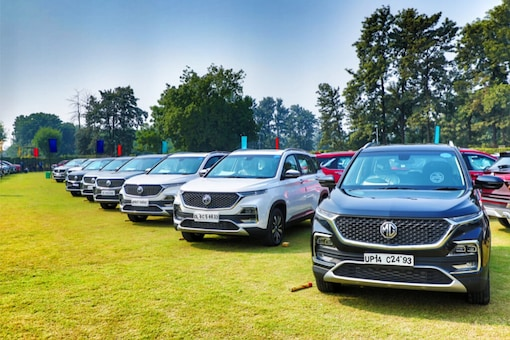 Image for Representation  (MG Hector India)