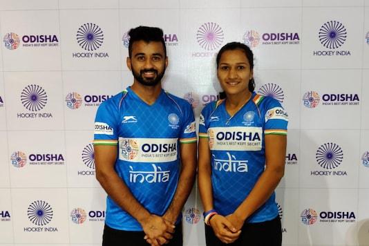 Manpreet Singh and Rani Rampal  (Photo Credit: @TheHockeyIndia)