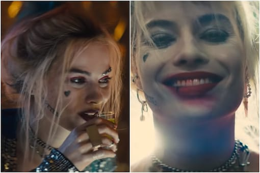 Image of  Margot Robbie as Harley Quinn, courtesy of YouTube