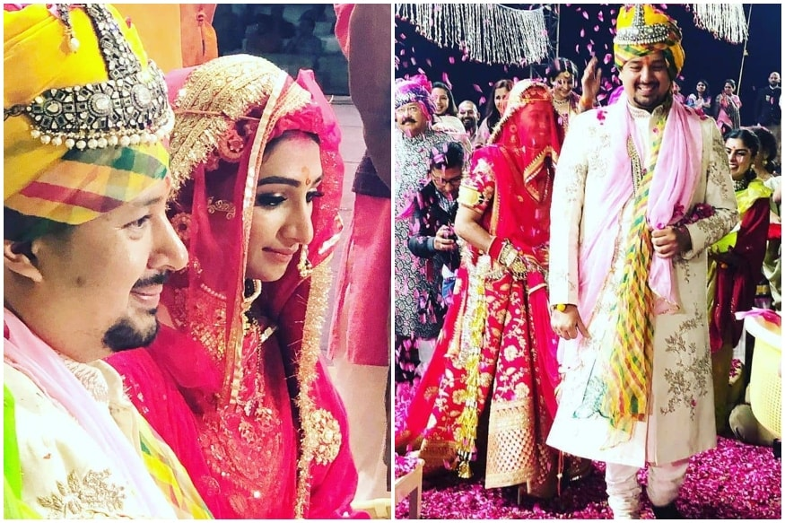 Mohena Kumari Singh is Radiant as a Royal Bride at Her Traditional Rajput Wedding, See Pics