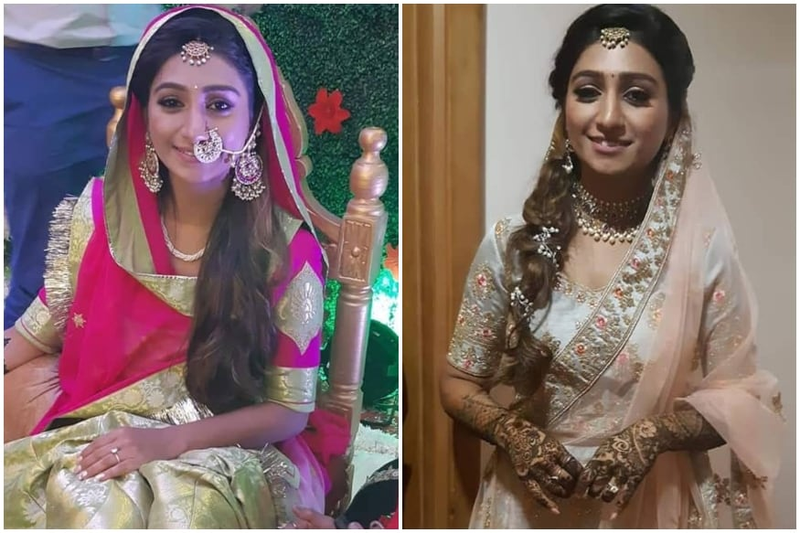 Actress Mohena Singh Looks Every Bit a Real-Life Princess in her Mehendi Outfit, See Pics