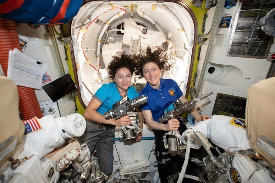 One Giant Leap for Womankind: NASA's All-Female Spacewalk to Finally Happen Today
