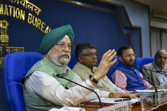 File photo of Hardeep Singh Puri. (PTI Photo/Subhav Shukla)