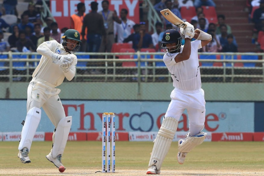 In Pics, India vs South Africa, First Test, Day Four at Visakhapatnam