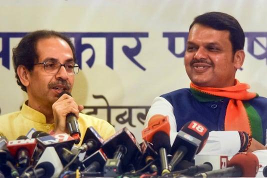 File photo of  Devendra Fadnavis and Uddhav Thackeray. (PTI)