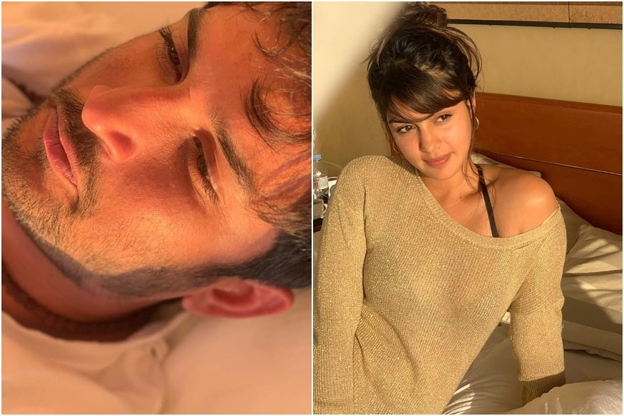 Sushant Singh Rajput, Rhea Chakraborty's First Pics Together from European Getaway Go Viral
