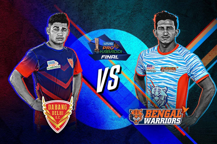 Pro Kabaddi League 2019 Final Live Streaming: When and Where to Watch Dabang Delhi vs Bengal Warriors Live Tel
