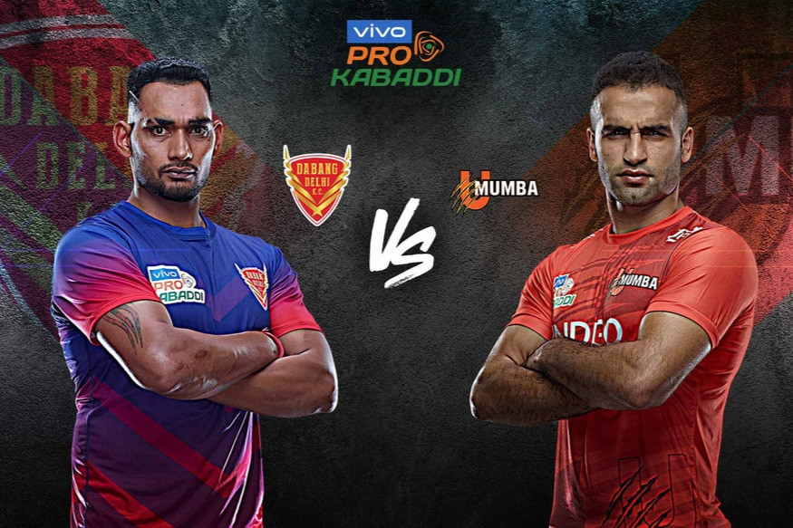 Pro Kabaddi 2019 Highlights Dabang Delhi Vs U Mumba In