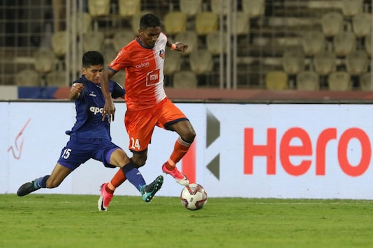 Photo from Chennaiyin FC vs FC Goa in the league stage. (Photo Credit: ISL)