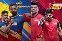 Pro Kabaddi League 2019 Playoffs Eliminator 1 Live Streaming: When and Where to Watch UP Yoddha vs Bengaluru Bulls Live Telecast Online