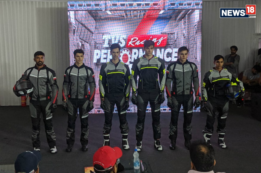 TVS Motor Company Launches Racing Performance Gear at 2019 MotoSoul - News18 thumbnail
