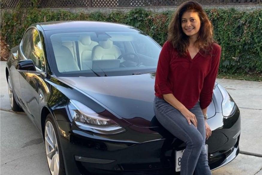 Bollywood Actress Pooja Batra Buys Tesla Model 3 in US