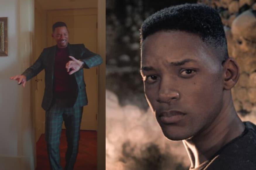 WATCH: Will Smith Joins #GeminiManChallenge With Trippy TikTok Uploads