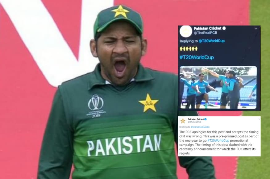 PCB Trolled Sacked Captain Sarfaraz Ahmed and Pakistan Cricket Fans Didn't Like it
