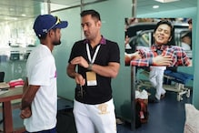 Dhoni Made a Cameo After India's Thumping Test Win and Fans Couldn't Stop Gushing