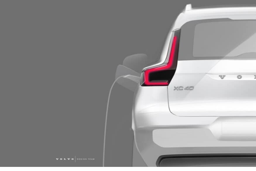 Volvo XC40 Electric SUV: More Teaser Images Released