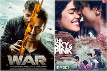 Hrithik Roshan's War Dominates Priyanka Chopra's The Sky Is Pink at Box Office